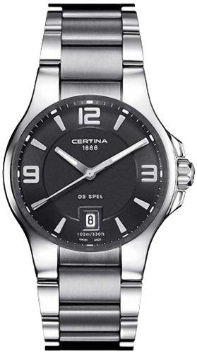 Certina Herren-Armbanduhr XL Analog Quarz Edelstahl C012.410.11.057.00
