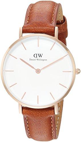 Daniel Wellington Damenuhr Classic Petite Durham Weiß/Roségold DW00100172