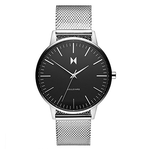 MVMT Damen Analog Quarz Uhr mit Edelstahl Armband D-MB01-BS