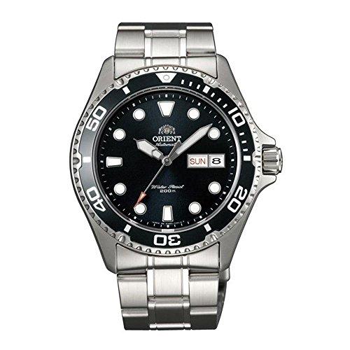 Orient Ray II Herren-Armbanduhr 41.5mm Armband Edelstahl Automatik FAA02004B9