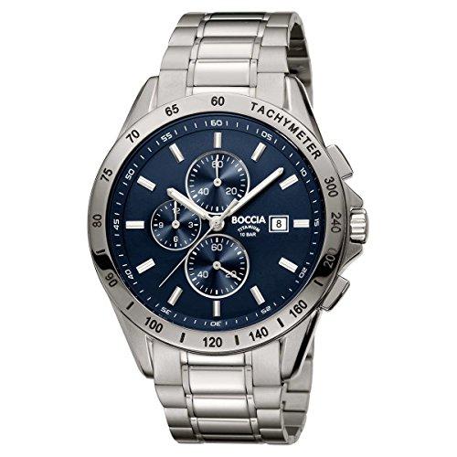 Boccia Herren-Armbanduhr 3751-01