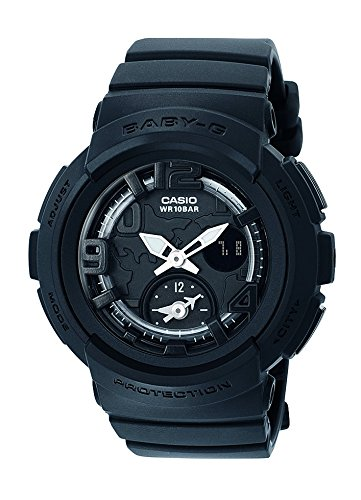 Casio Baby-G – Damen-Armbanduhr mit Analog/Digital-Display und Resin-Armband – BGA-190BC-1BER