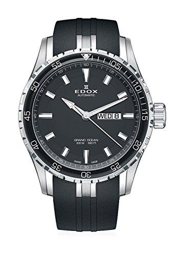 EDOX Herren-Armbanduhr Grand Ocean Datum Wochentag Automatik 88002-3CA-NIN