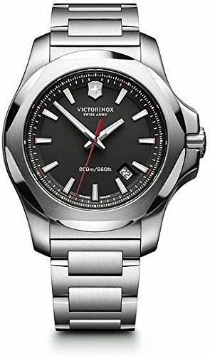 Victorinox Swiss Army Herren-Armbanduhr I.N.O.X. Analog Quarz Edelstahl 241723.1