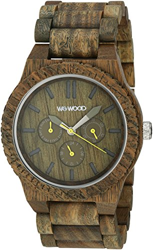 WeWood Kappa Army Multifunktionsuhr WW15002