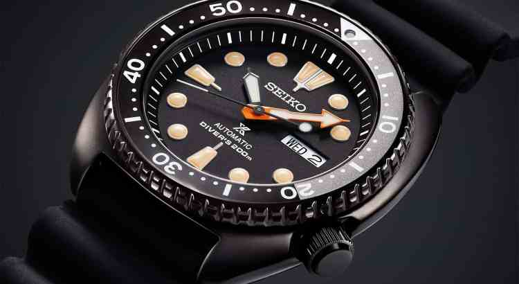 Seiko Black Series Turtle SRPC49