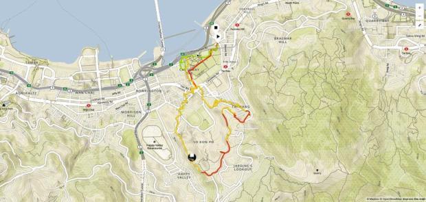 Hong Kong Run Track