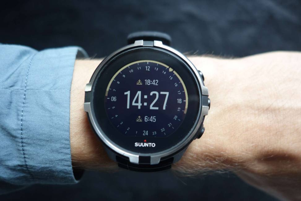 Suunto Spartan Outdoor Watchface