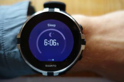 Suunto Spartan Sport WHR Baro, Sleep Time Screen (1)