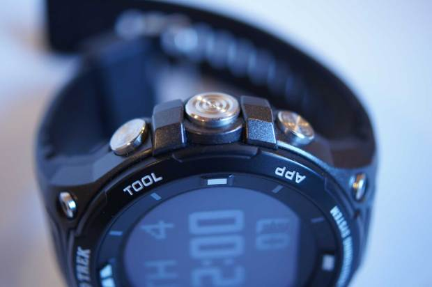 Casio ProTrek Smart buttons