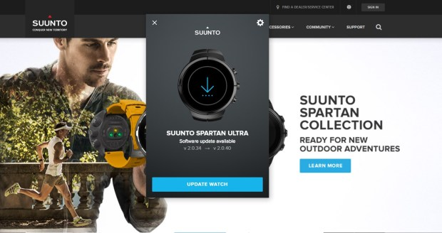 Suunto Spartan (Software) Update 2.0.40