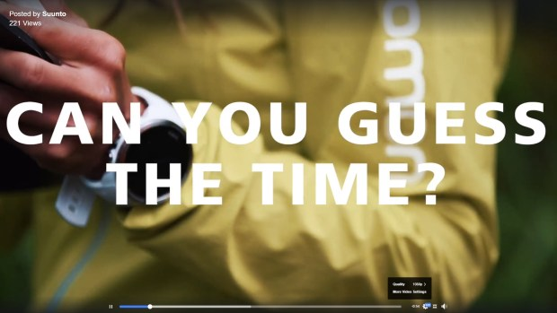 New Suunto (Spartan 2?) watch, this time in white, on Zegama Aizkorri promo video...
