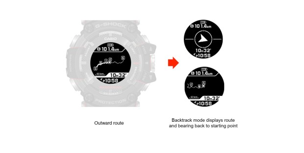 Promo/explanation images from the Casio website