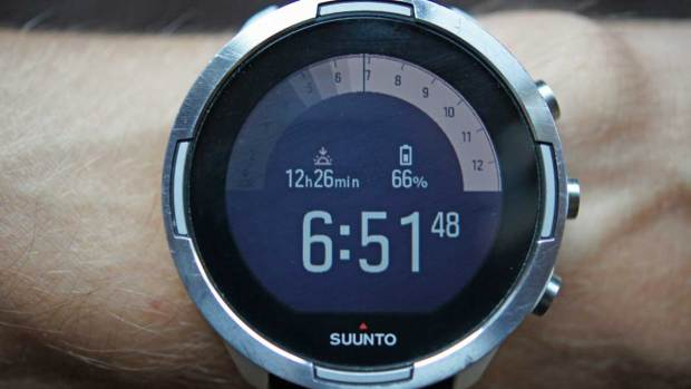 Suunto 9 Baro, New Outdoor Watchface, Second Screen during the Day