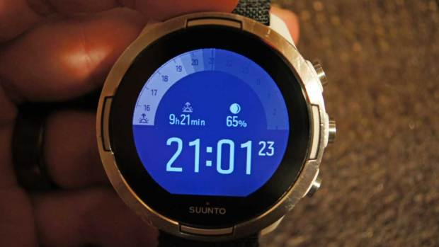 Suunto 9 Baro, New Outdoor Watchface, Second Screen During the Night