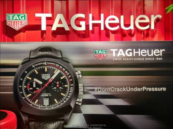 TAG Heuer auf dem 87. Internationalen Auto Salon