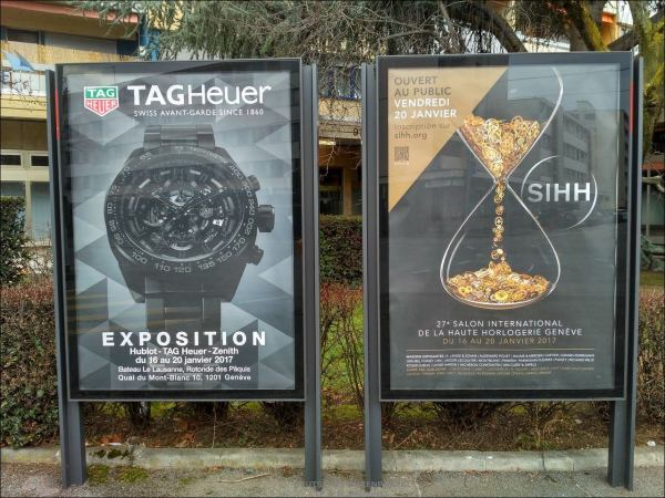 Sideshow SIHH 2017 > TAG Heuer