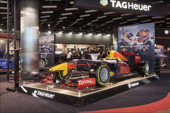 """Red Bull Racing - TAG Heuer""-Showcar 2017 auf dem internationalen Automobil-Salon in Genf"