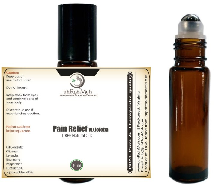 Pain relief treatment diluted