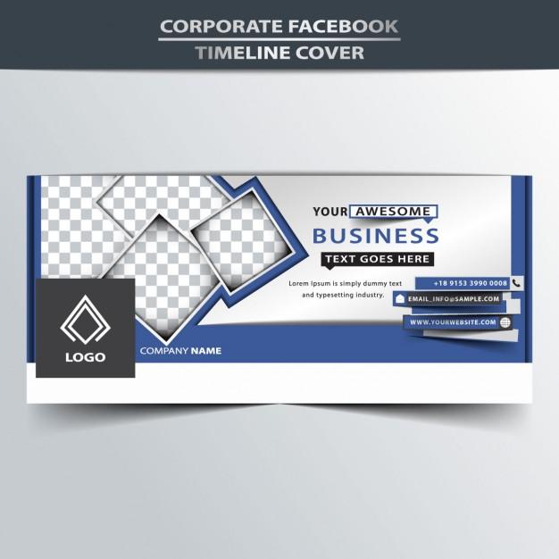 Facebook timeline cover presentation | free vectors | UI Download