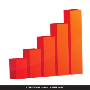 bar graph free vector