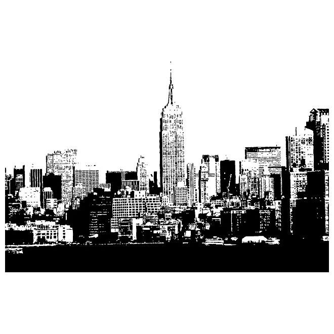 NEW YORK CITY SKYLINE VECTOReps Free Vectors UI Download