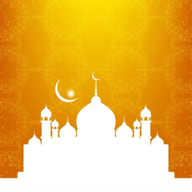 Islami Background Hijau