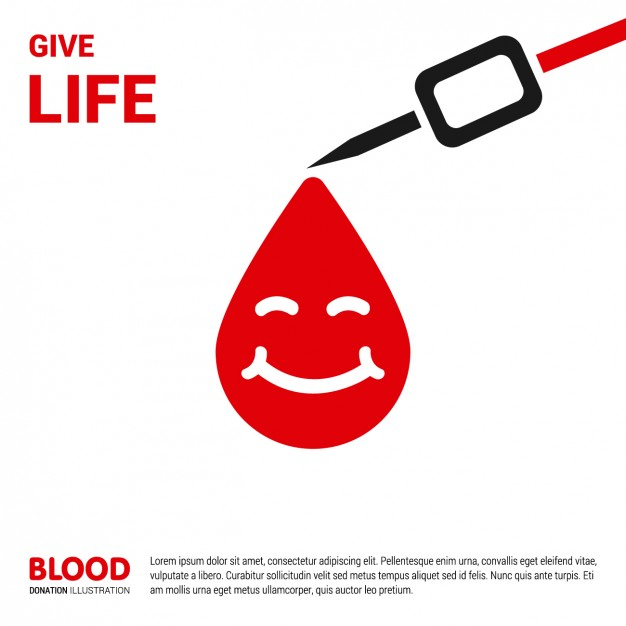 Free online donation form templates. Blood Donation Template Free Vectors Ui Download