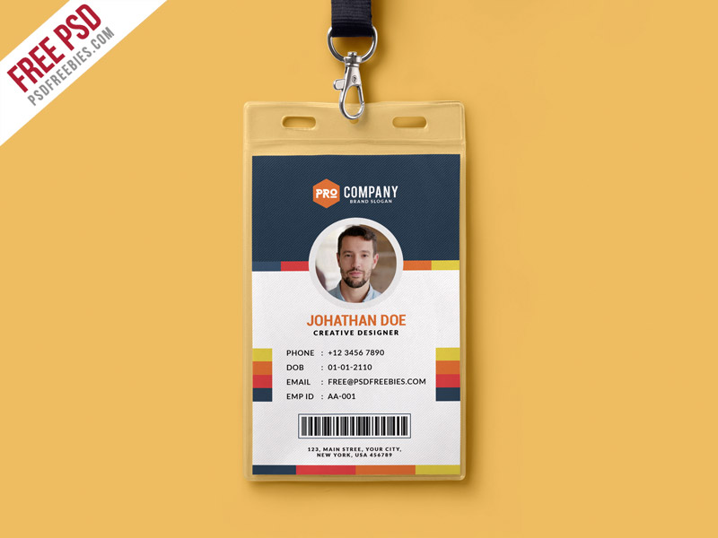 free psd vertical company