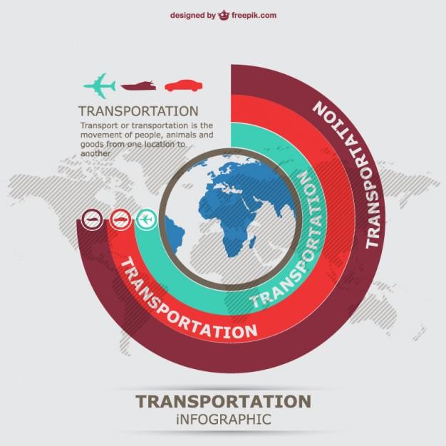 information graphics transportation vector