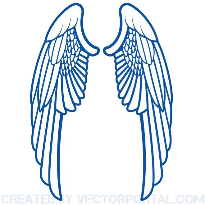 wings clip art free