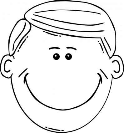 man face cartoon free