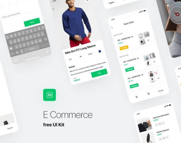 Free Fashion Ecommerce UI Kit