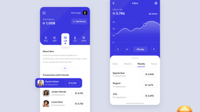 Libra facebook cryptocurrency app - uifreebies.net