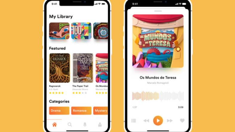 Audio Book UI Kit Free