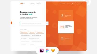 Biller Landing Page Design Free