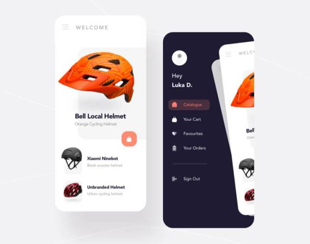 Free Helmet Shopping App