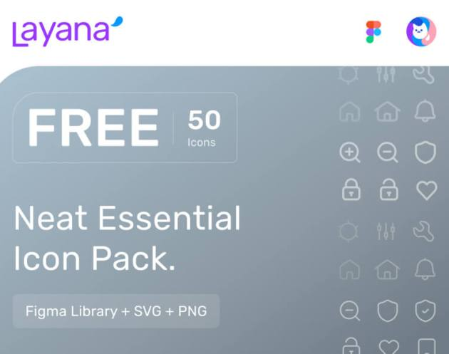 Layana Essential Free Icons