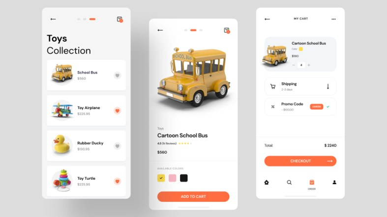 Toy Store Ecommerce App Free