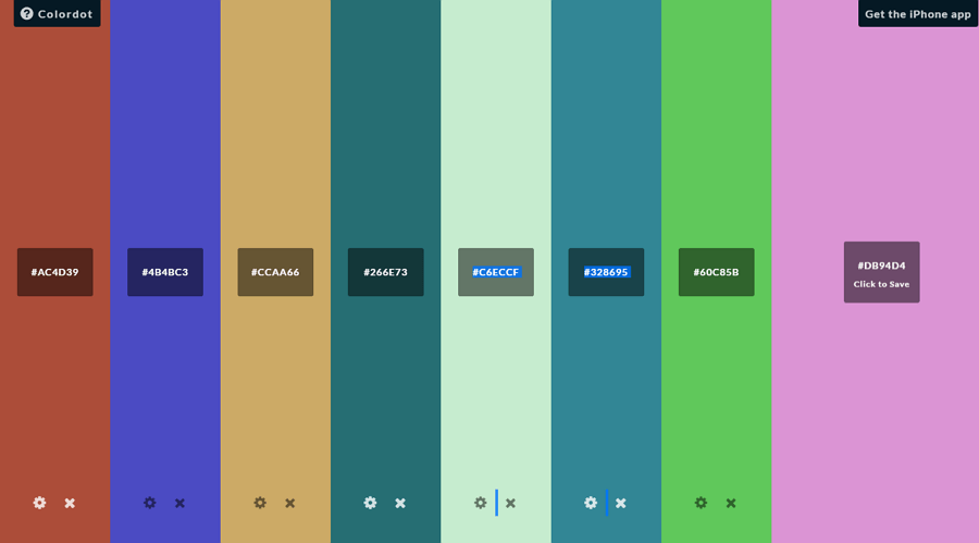 Colordot - UI Freebies
