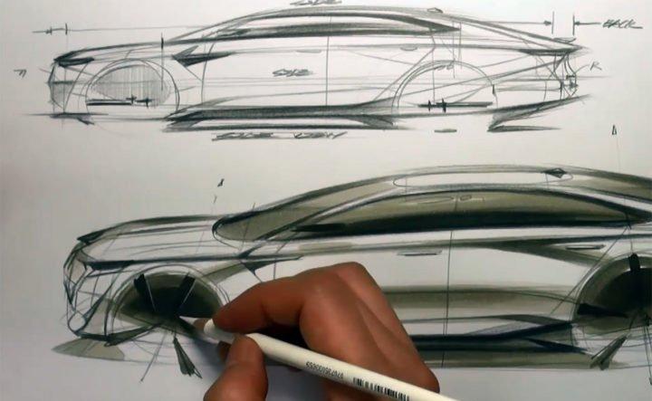 Tip up Car Design Sketch by Sangwon Seok 720x540 1 - UI Freebies