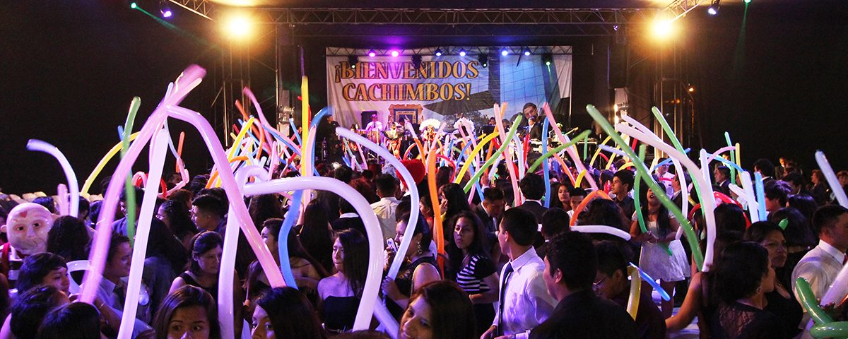 Ingresantes disfrutaron de la divertida Fiesta de