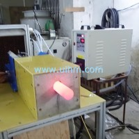 Custom build auto feed induction forging machine