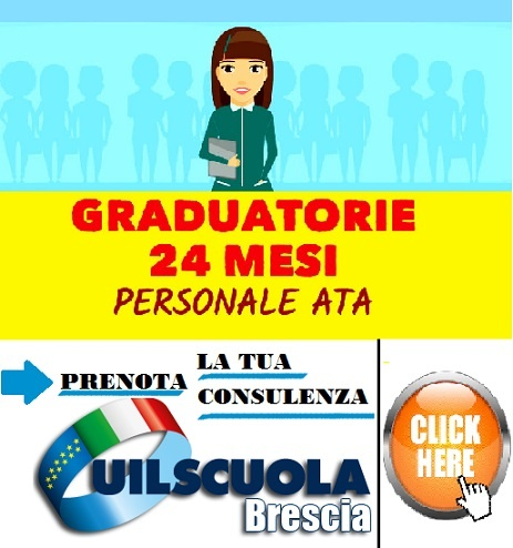 Uil Scuola Brescia ATA 24 MESI 2020-RID