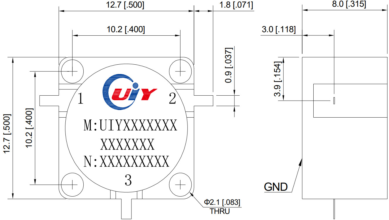 Recommend UIY 5G low frequency band RF isolator / Circulator.