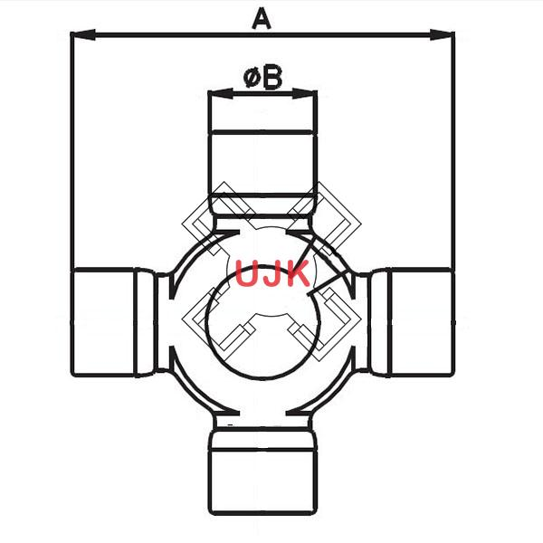 106829 professional universal joint manufacturer and supplier