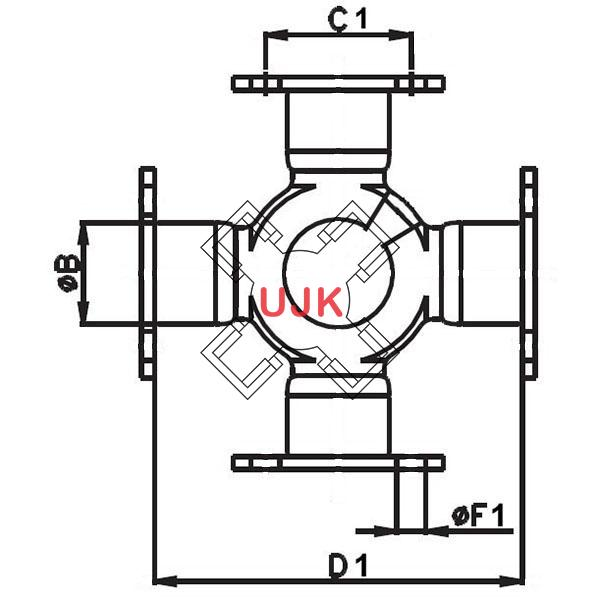 TMJ521353A professional universal joint manufacturer and