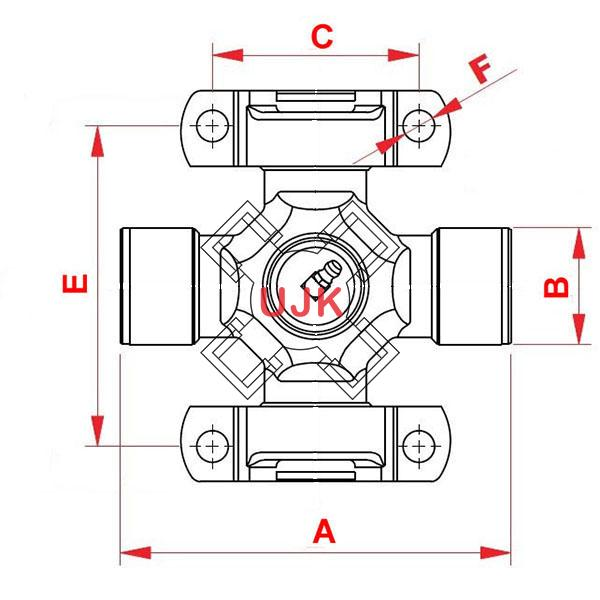 1879540 professional universal joint manufacturer and supplier