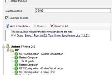 how to update tpm 1.2 to 2.0 hp