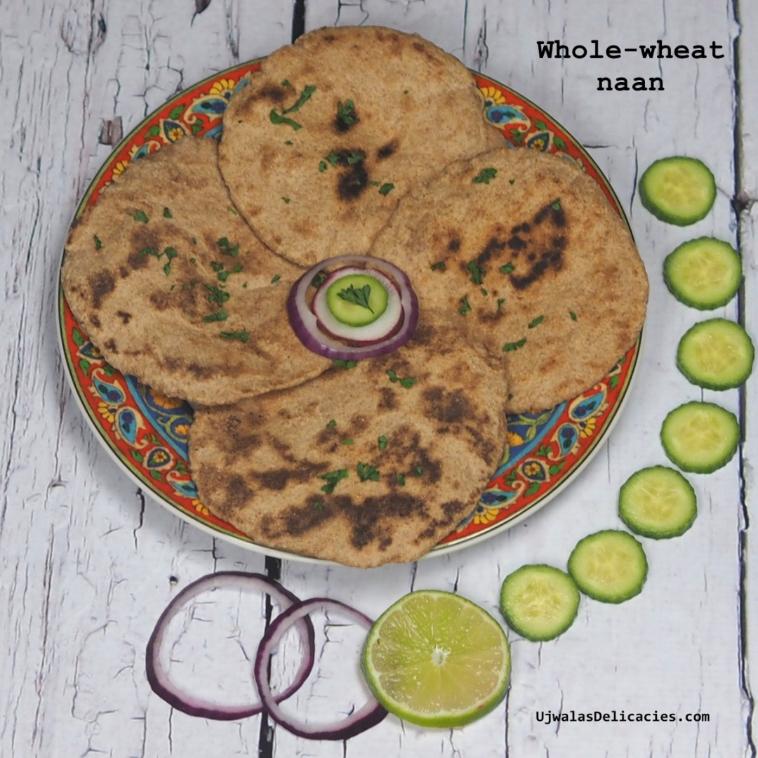 Whole-wheat naan
